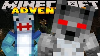 Minecraft Adventure - THE MYSTERY OF THE WEREWOLF! (Custom Roleplay) pt2
