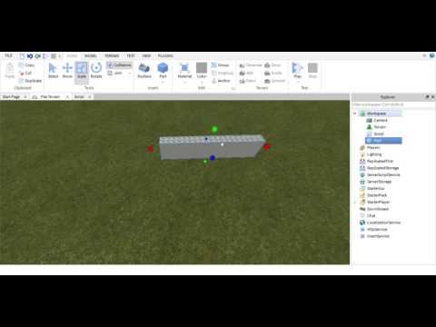 Roblox Studio How To Make A Door You Can Walk Through Doovi