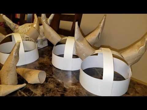 Viking helmet/hat DIY!