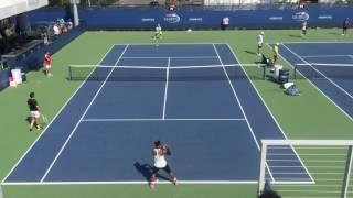 Serena Williams US Open 2016 Practice