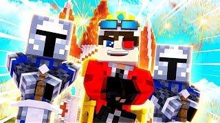 ВОЙНЫ ФЕОДАЛОВ НА КРИСТАЛИКСЕ! Я СОЗДАЛ КОРОЛЕВСТВО! Minecraft Cristalix