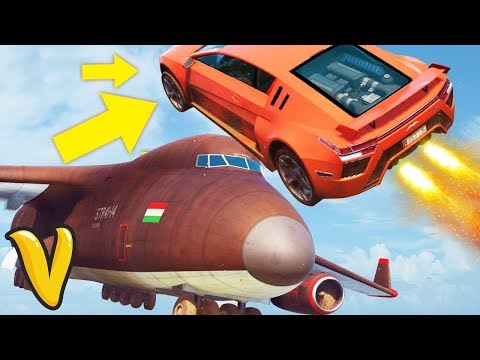 INTENSE JUST CAUSE 3 JUMPING OVER THE CARGO PLANE!!! Just Cause 3 Multiplayer Stunts