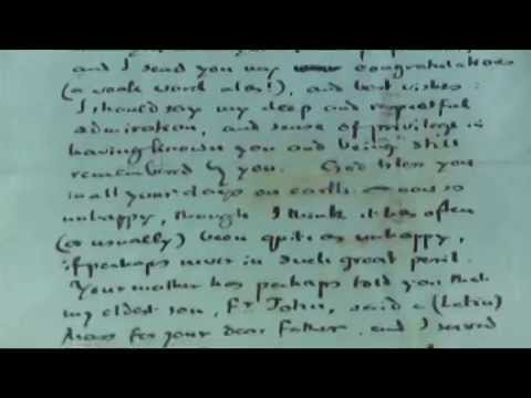 A Letter from J.R.R. Tolkien to Rose MacNamara