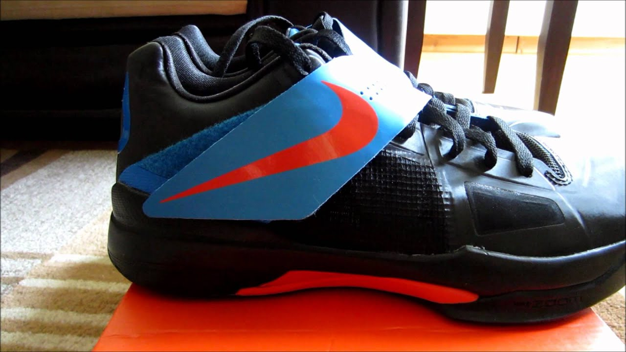"Nike Zoom KD IV (4) ""Away"" Unboxing + On Feet - YouTubeKd 4 On Feet"