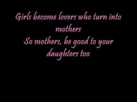 John mayer daughters lyrics