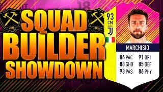 EPIC PINK MARCHISIO SQUAD BUILDER SHOWDOWN! FIFA 18 ULTIMATE TEAM