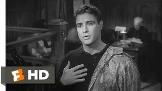 The Fugitive Kind (1/8) Movie CLIP - Snakeskin in Court (1959) HD