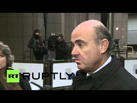Belgium: 'Significant distance between Greece and Eurogroup' - Spanish finance minister