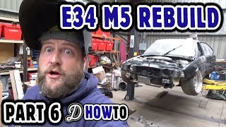 Nissan S14 Suspension and Steering on a BMW E34? S62 M5 V8