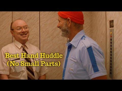 No Small Parts - Best Hand Huddle (Bud Cort, The Life Aquatic)