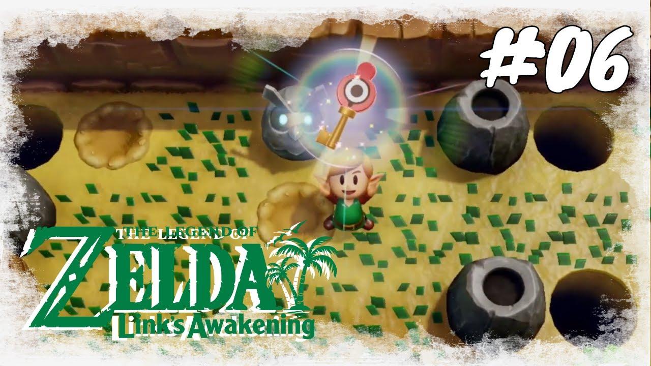The Legend of Zelda Links Awakening #06 / Der Schleimschlüssel / Nintendo Switch (Deutsch German) thumbnail