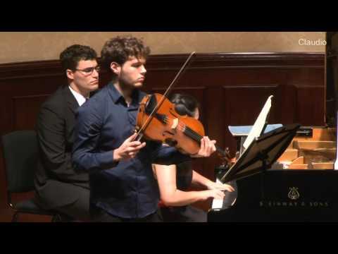 Johann Nepomuk Hummel - Sonata Op. 5 No. 3 - Timothy Ridout and Ke Ma
