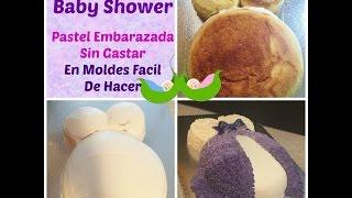 Cómo Hacer Pastel De Embarazada En Chantilly Muy Fácil! - Madelin