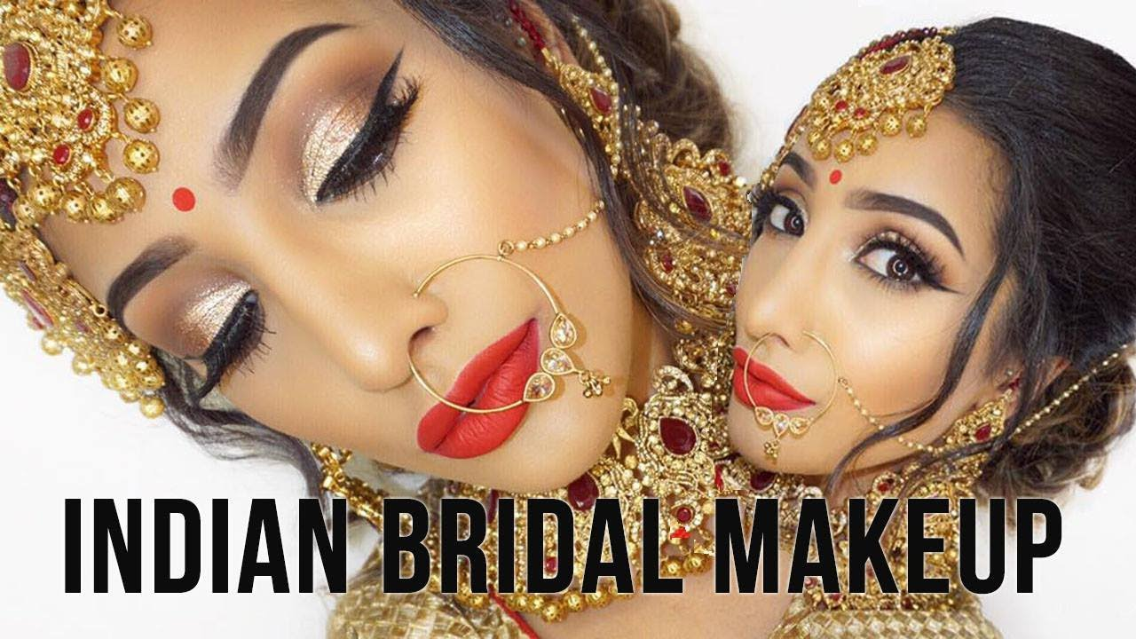 Best Indian Bridal Makeup Tutorials With Step By Step