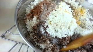 Cook And Eat Lebanese - Maklouba (eggplantwith Rice) المقلوبه الفلسطينية