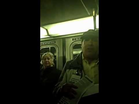 Jeff Boss for NYC Mayor on the 1 train