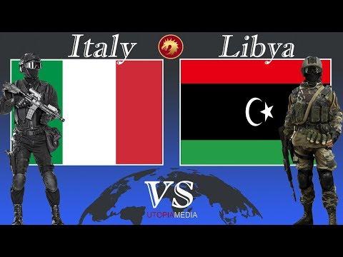 ITALY vs LIBYA military power comparison 2020
