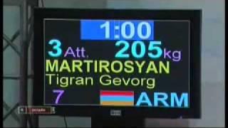 Tigran Gevorgi Martirosyan@ Ashxarhi Champion
