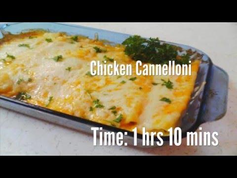 Chicken Cannelloni Recipe