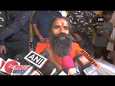 Baba Ramdev hails 4 years of PM Modi government