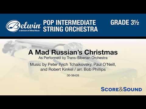 A Mad Russian's Christmas, arr. Bob Phillips – Score & Sound