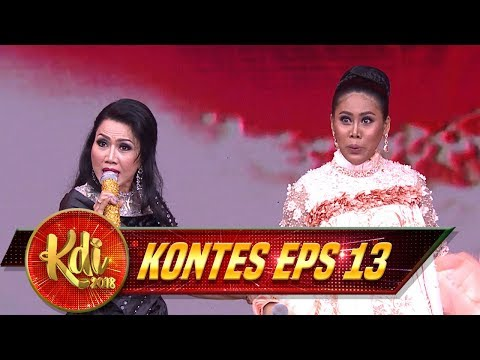 Rita Sugiarto Feat Evi Masamba [MAKAN DARAH] Asik BGT! - Kontes KDI Eps 13 (22/8)