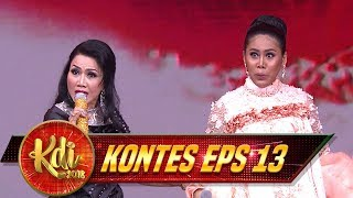 Download Video Rita Sugiarto Feat Evi Masamba [MAKAN DARAH] Asik BGT! - Kontes KDI Eps 13 (22/8) MP3 3GP MP4