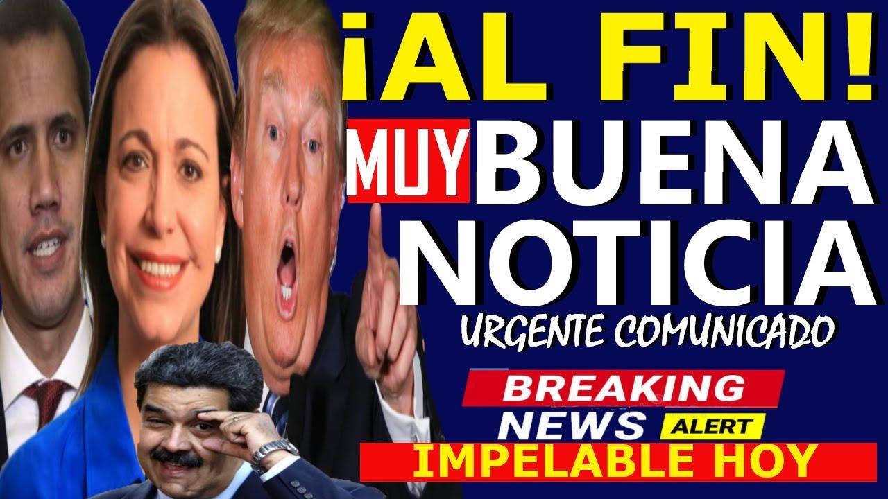 🔴HACE 5 MINUTOS, EEUU NEGOCIA LA SALIDA DE MADURO - MARIA CORINA HOY - GUAIDO CONTRA LA FANB