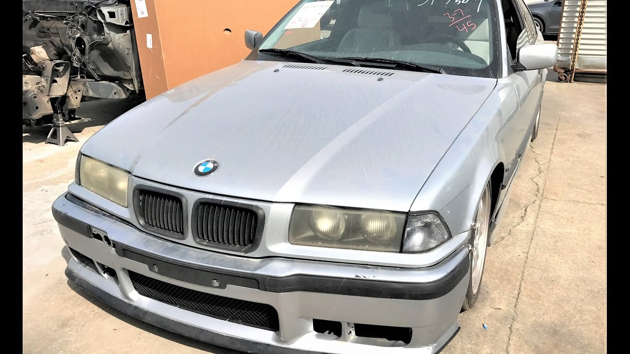 bmw e36 328i coupe sport m tech wrecked parts for sale youtube. Black Bedroom Furniture Sets. Home Design Ideas