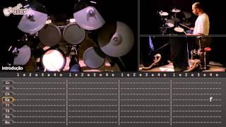 Paranoid - Black Sabbath (aula de bateria)