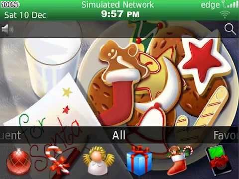 christmas-milk-and-cookies-theme-for-blackberry®-(premium-version)