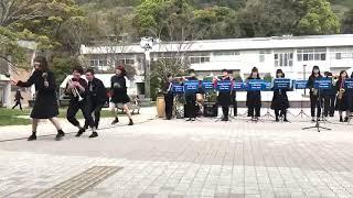 新入生の入学をお祝いして演奏しました!1曲目、ストロベリーダンスアワ...