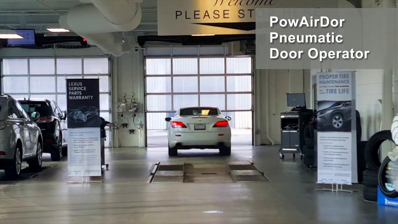 & PowAirDor™ Pneumatic Door Operating System - YouTube Pezcame.Com
