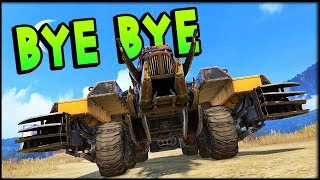 Crossout - I Made Them Disappear! (Crossout Gameplay)