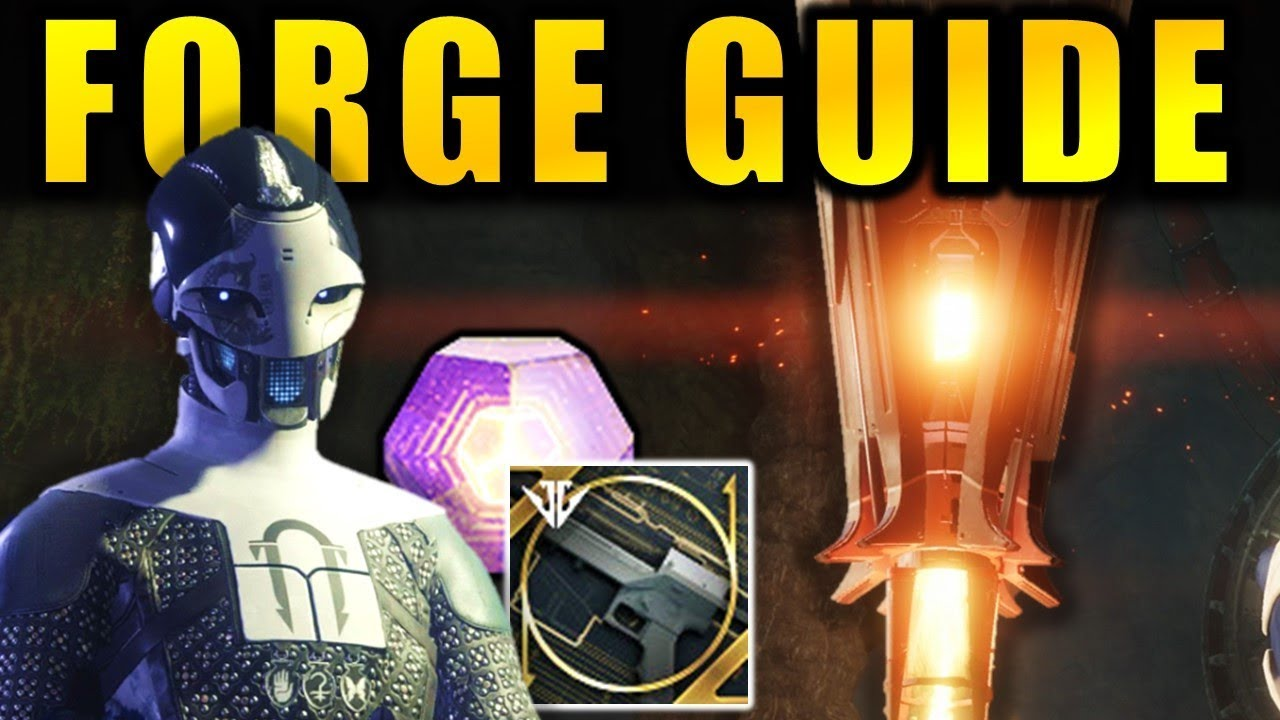 Destiny 2: FORGE & ADA-1 GUIDE! | Craft Powerful Weapons! | Black Armory