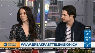 Tessa Virtue and Scott Moir answer young skaters' questions