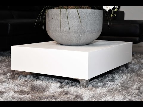 Low Profile Modern Coffee Table | How To Make