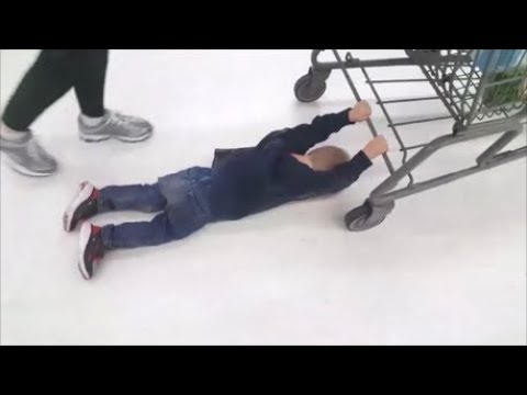 This Kid Creates a HILARIOUS New Sport @Walmart