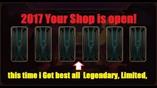 BEST SHOP IN LEAGUE 2017! League of Legends - My Shop Reveal and i got all  Legendary, Limited,
