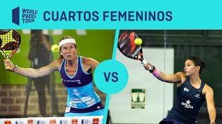 Resumen Cuartos Femeninos (segundo turno) Estrella Damm Valencia Open 2019 | World Padel Tour