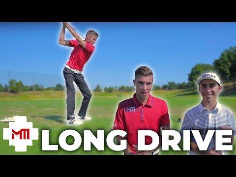 Long Drive Contest at the MTi Dallas Experience