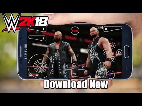 Download WWE 2K18 Mega N64 Emulator With Apk