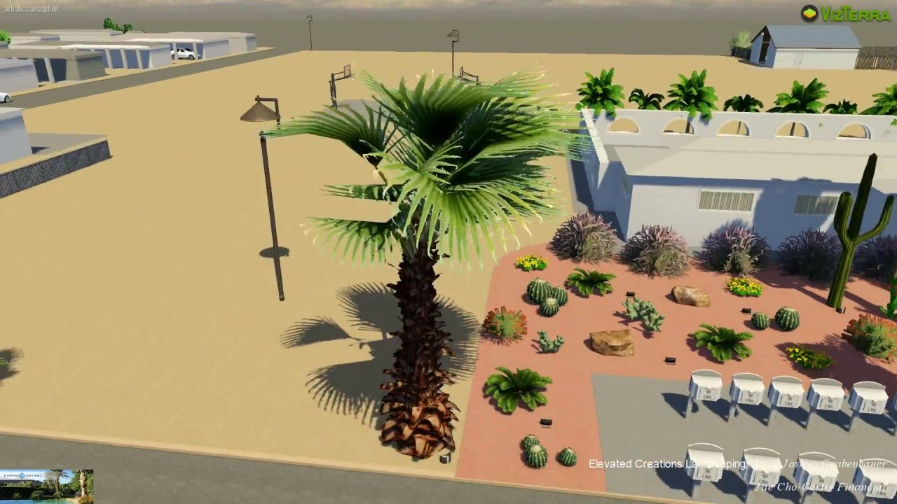 Las Casitas Mobile Home Park 3D Design Video Tour