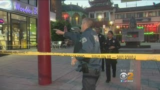 Search Continues For Suspect Who Fatally Stabbed 2 Men In Chinatown