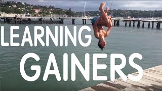 Learning How To Gainer Into Water 20 Minutes Progression!