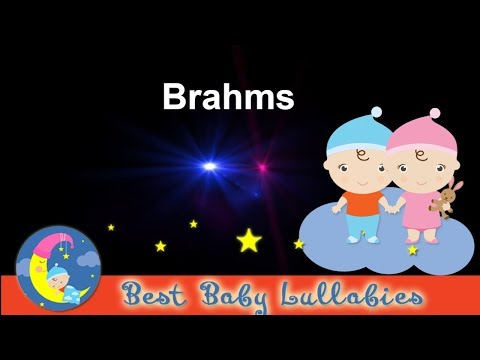 SUPER RELAXING BRAHMS BABY LULLABY To Put a Baby To Sleep  Songs Toddlers Kids Children's Music