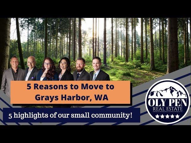 Top 5 Reasons to Move to Grays Harbor, WA