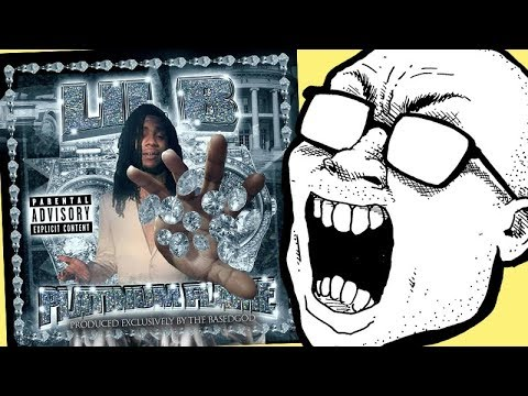 Lil B - Platinum Flame MIXTAPE REVIEW