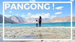 CAMPING AT PANGONG LAKE   LADAKH travel 2018   Last episode of the Ladakh series