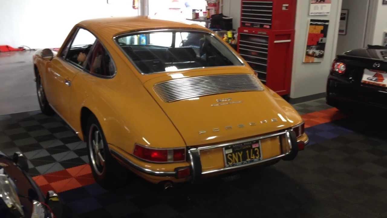 1969 Porsche 911 T Bahama Yellow Youtube